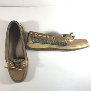 Sperry Top-sider Gold boat shoes 6.5